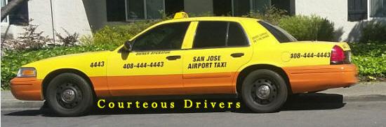 San Jose Airport Taxi Sedan