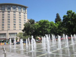 The Fountains By The Fairmont; Downtown San Jose